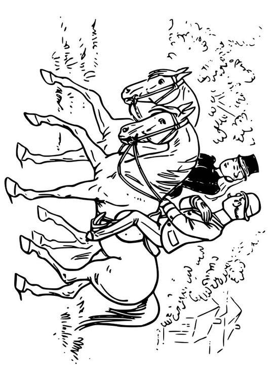 Malvorlage Pferd Reiten Ausmalbild 18570 Images