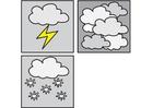Malvorlage  Pictogramme Wetter 3