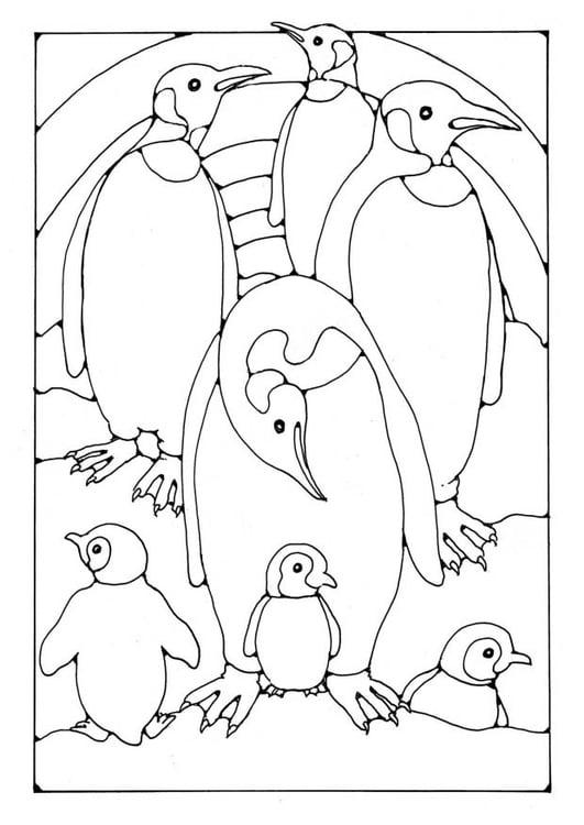 malvorlage pinguine  kostenlose ausmalbilder zum