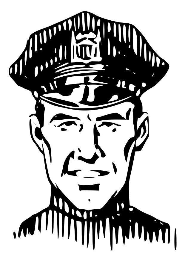 malvorlage polizei  kostenlose ausmalbilder zum