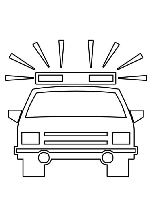 malvorlagen polizeiauto  kinder zeichnen und ausmalen