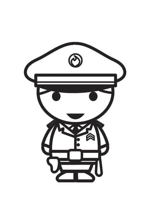 ausmalbilder kostenlos zum ausdrucken polizei