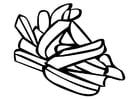Malvorlage  Pommes frites