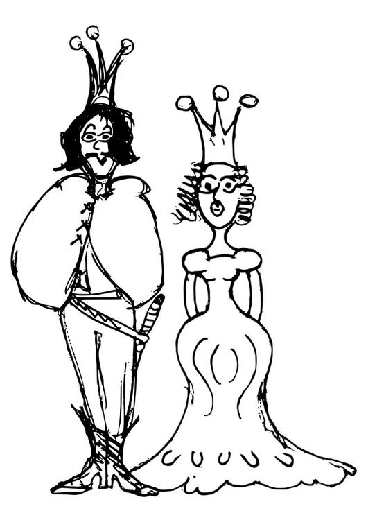 Malvorlage Prinz Und Prinzessin Ausmalbild 22400 Images