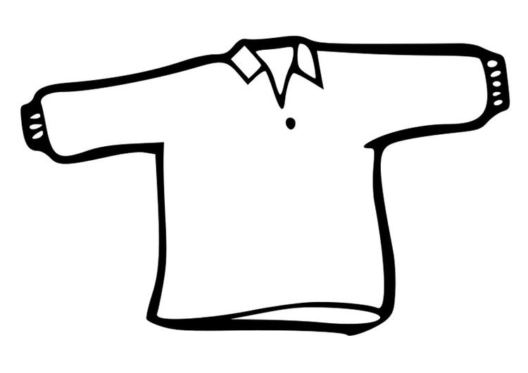 malvorlage pullover  ausmalbild 19015