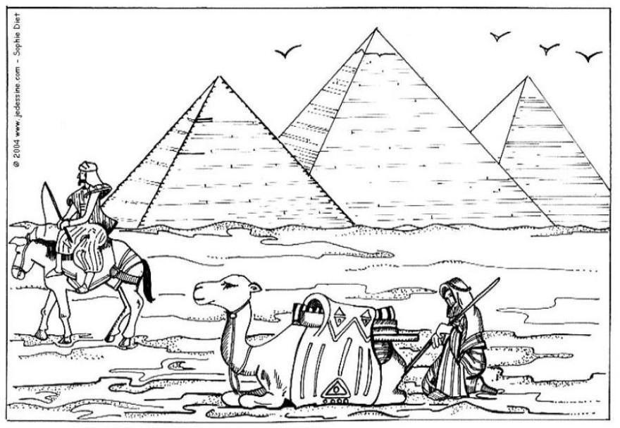 ausmalbilder ägypten nil