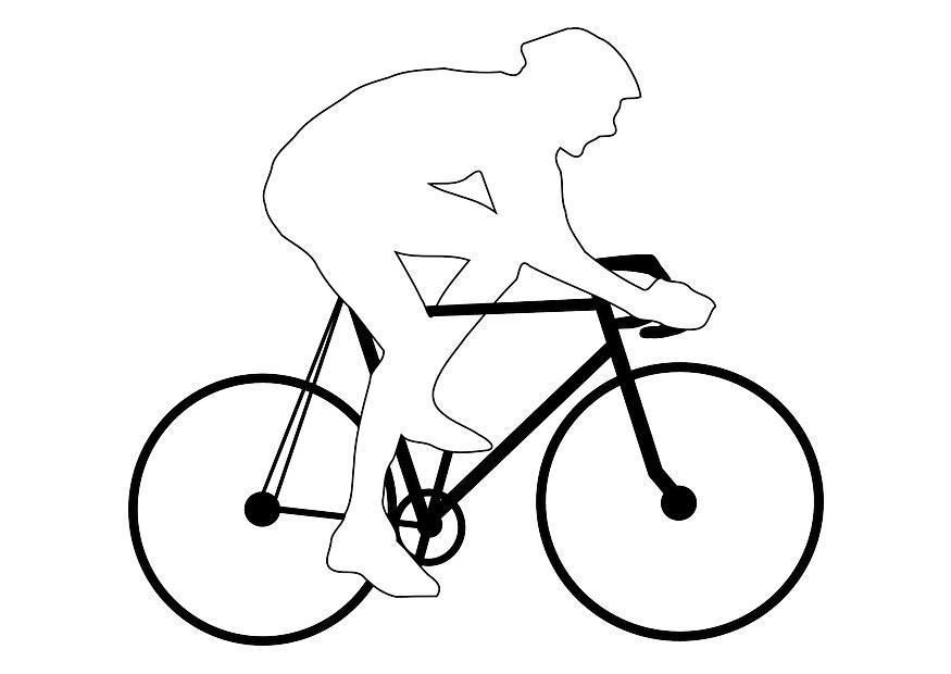 malvorlage radrennen  kostenlose ausmalbilder zum