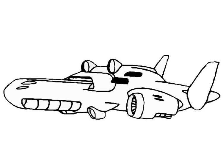 Malvorlage Raumschiff Kostenlose Ausmalbilder Zum Ausdrucken Bild 8862