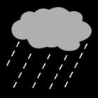 Malvorlage  Regen
