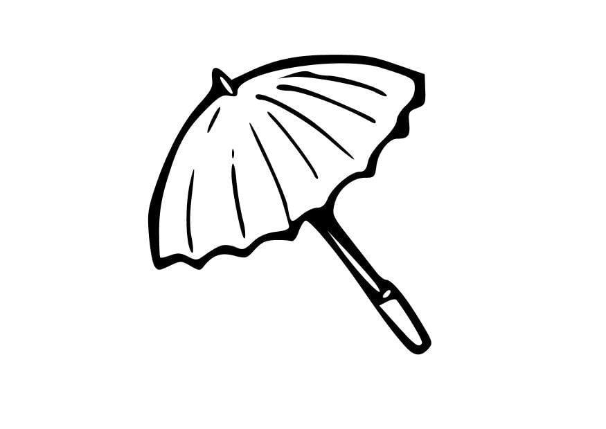 malvorlage regenschirm  kostenlose ausmalbilder zum
