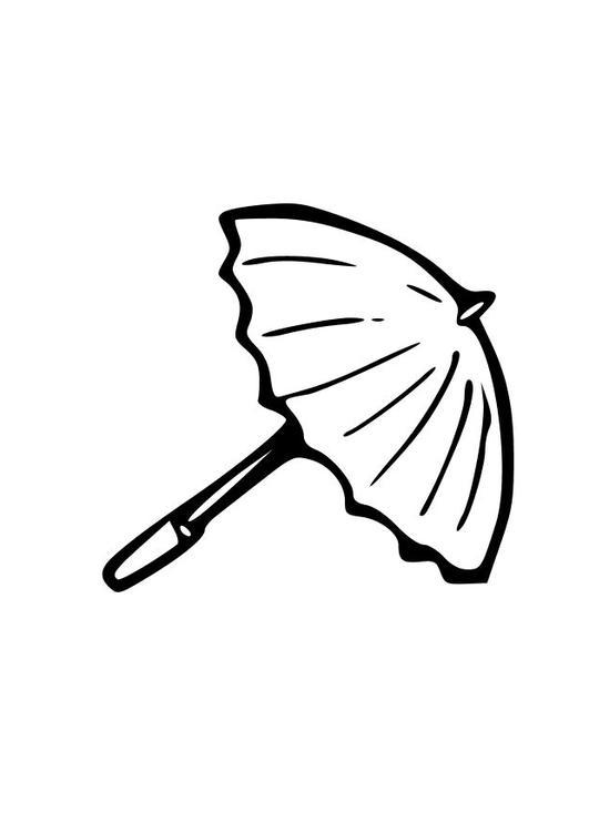 Malvorlage Regenschirm Ausmalbild 10323 Images