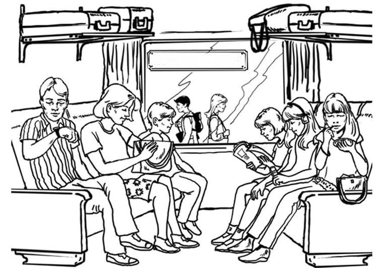 malvorlage reisen  eisenbahn  kostenlose ausmalbilder