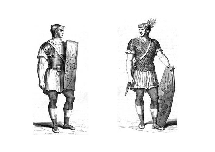 Malvorlage Romische Soldaten Kostenlose Ausmalbilder Zum Ausdrucken
