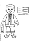 Rohin aus Indien