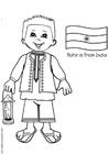 Malvorlage  Rohin aus Indien