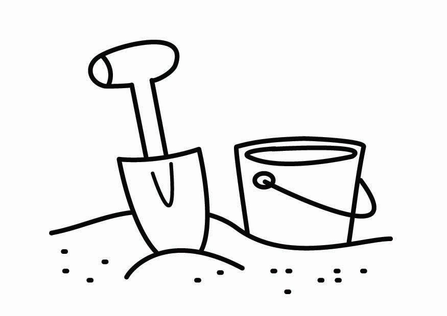 Klettergerüst Ausmalbild : Malvorlage sandkastenecke ausmalbild