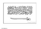 Malvorlage  Saudi Arabien