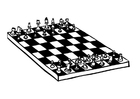 Malvorlage  Schach