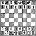 Malvorlage  Schach spielen