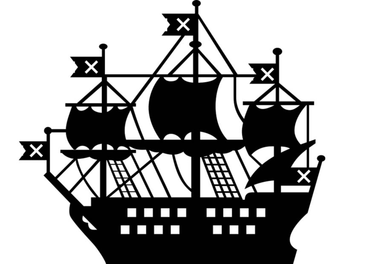 malvorlage schiff  ausmalbild 18721