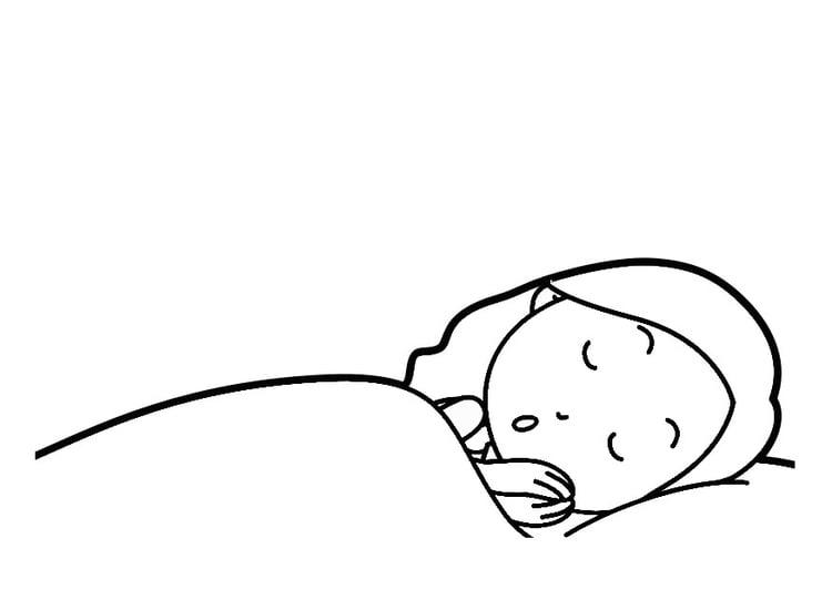 Gemütlich Baby Schlaf Schönheit Malvorlagen Zeitgenössisch ...