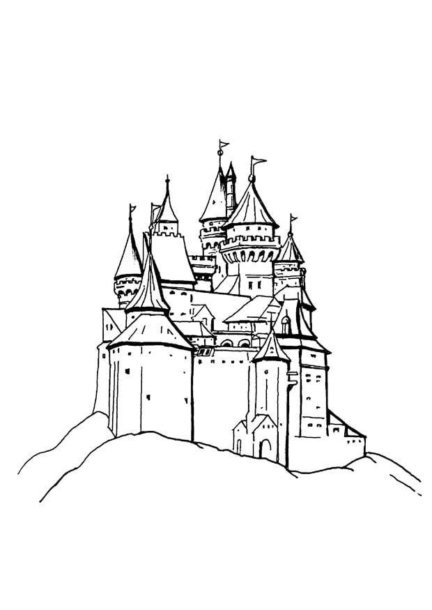 Malvorlage Schloss Kostenlose Ausmalbilder Zum Ausdrucken Bild 9088