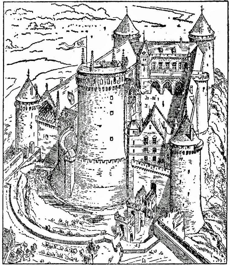 Malvorlagen Schloss Burg | My blog