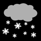 Malvorlage  Schnee