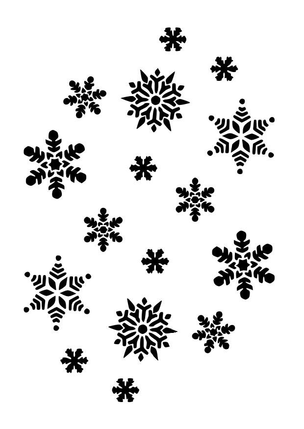 schneeflocken bilder zum ausmalen