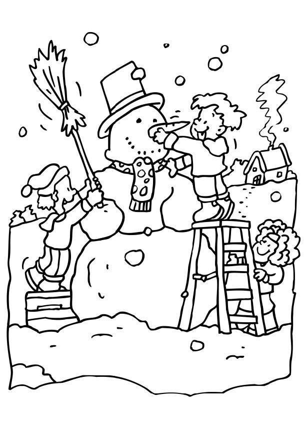 Fantastisch Frosty Der Schneemann Ausmalbilder Zeitgenössisch ...