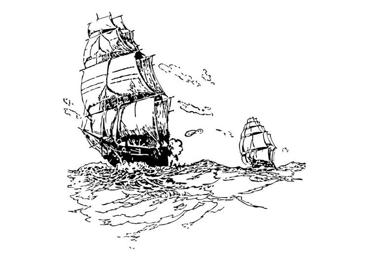malvorlage segelboote  ausmalbild 10521