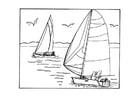Malvorlage  segeln