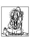 Malvorlage  Shiva