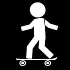Malvorlage  Skateboard