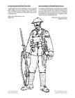 Malvorlage  Soldat Erster Weltkrieg