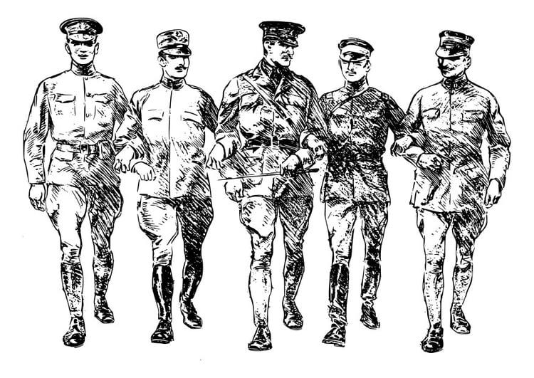 Malvorlage Soldaten Aus Dem 1 Weltkrieg Kostenlose Ausmalbilder