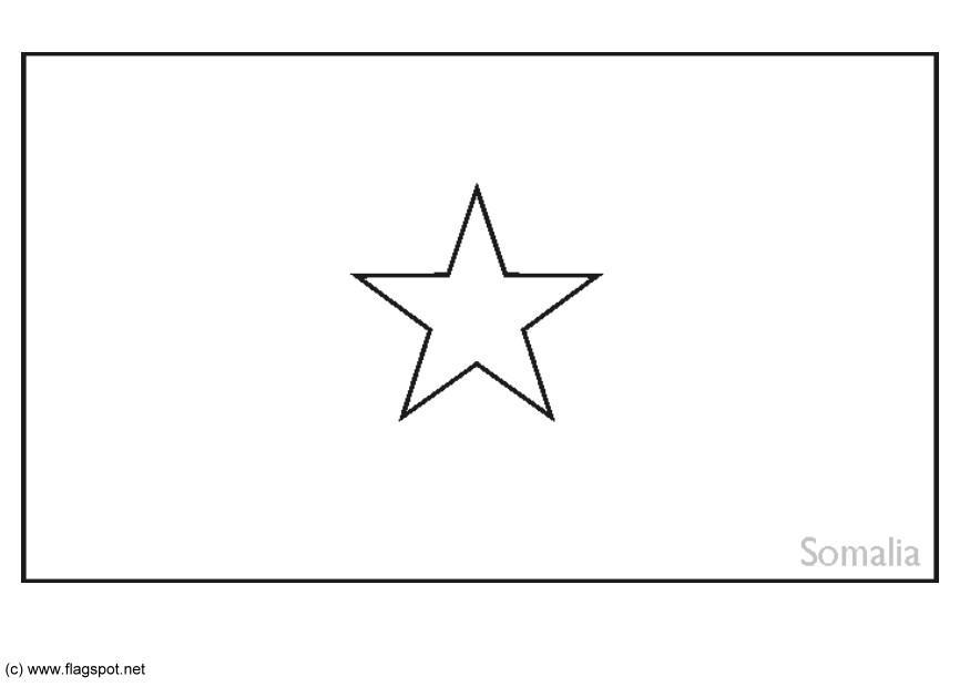 Somalian Coloring Pages