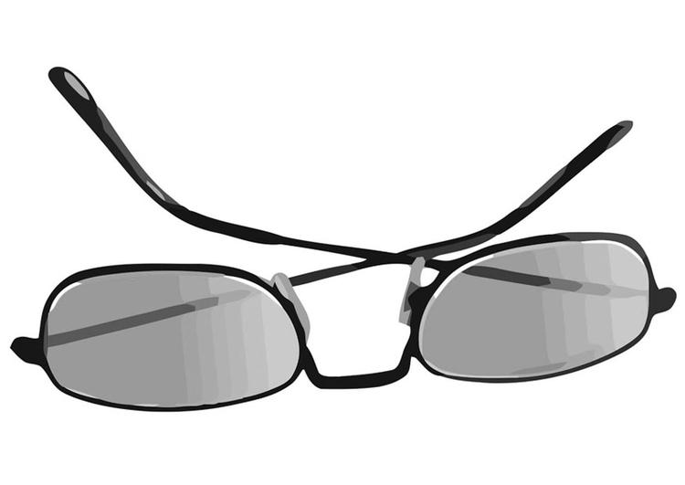 Malvorlage Sonnenbrille Ausmalbild 19417