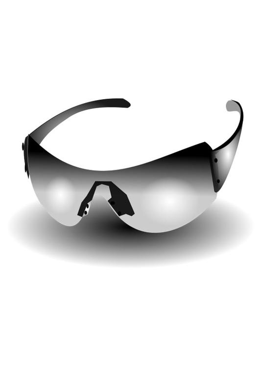 Malvorlage Sonnenbrille Ausmalbild 25700