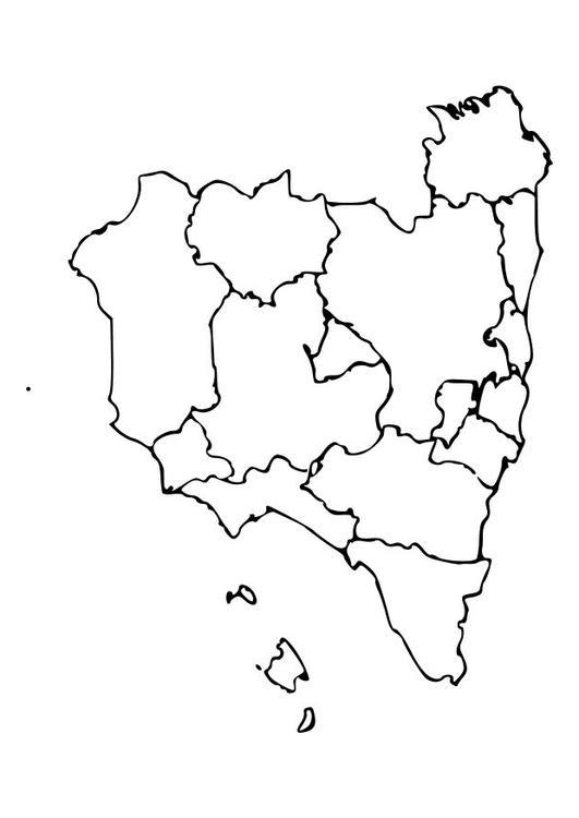 Malvorlage Spanien   Ausmalbild 10485.