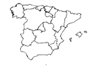 Malvorlage  Spanien