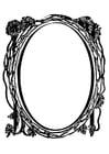 Malvorlage  Spiegel