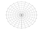 Malvorlage  Spinnennetz