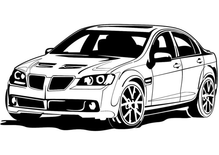 malvorlage sportauto  kostenlose ausmalbilder zum
