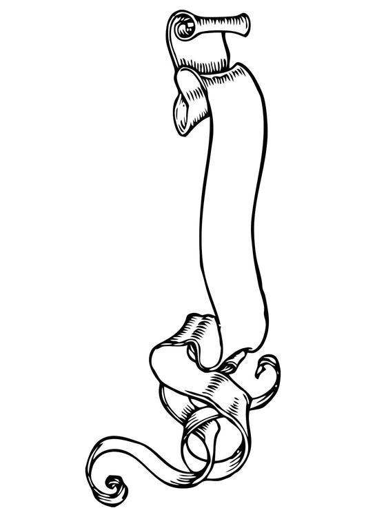 Drawing Vertical Lines In Html : Malvorlage spruchband ausmalbild