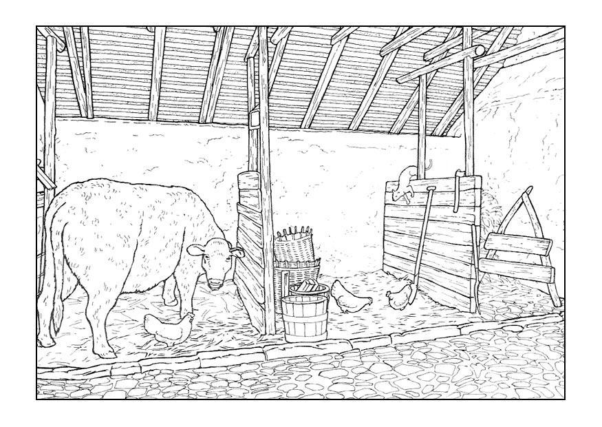 Paarden Kleurplaat Online Malvorlage Stall Kostenlose Ausmalbilder Zum Ausdrucken