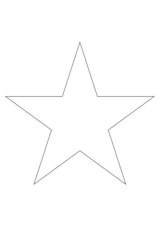 Google Afbeeldingen Kleurplaten Kerst Malvorlage Stern Ausmalbild 27796