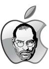 Malvorlage  Steve Jobs - Apple