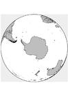 Malvorlage  Südpol