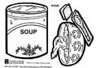 Malvorlage  Suppe
